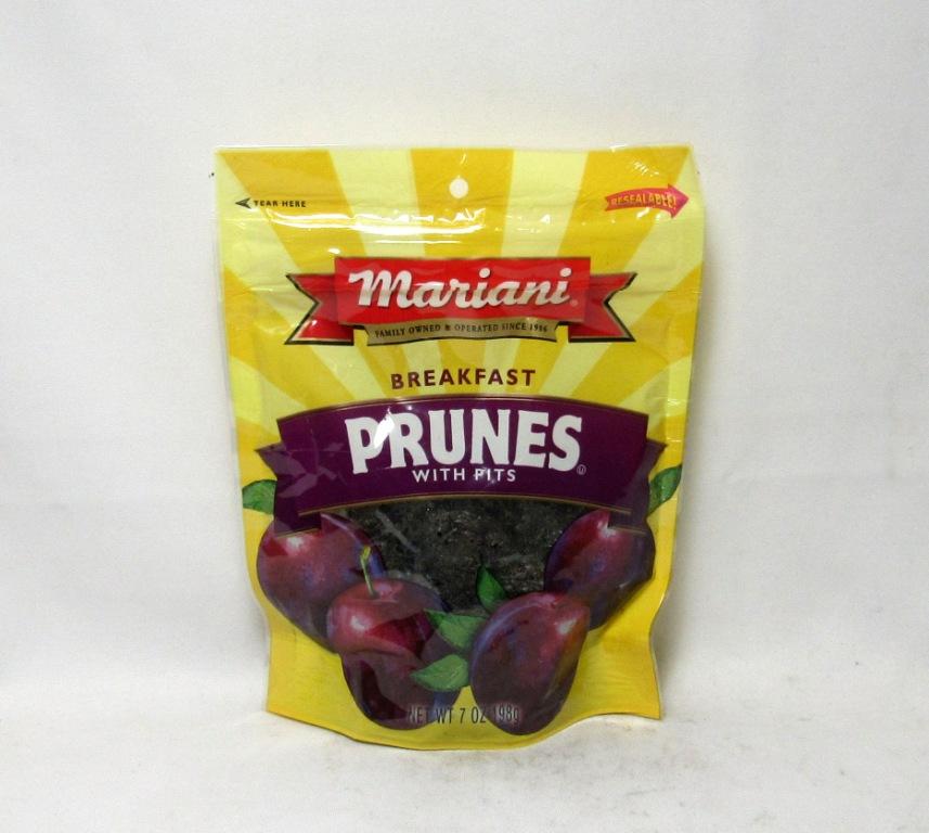 Jasmine Trading Inc Mariani Breakfast Prunes W Pits 7